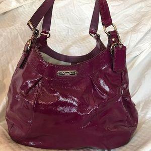 Coach patent leather Madison Maggie handbag